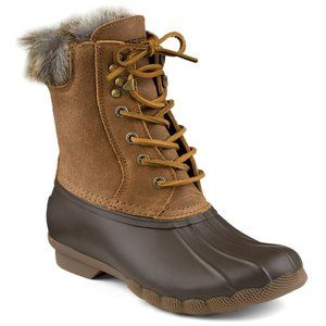 Sperry Bean Boots - Winter Boots Size 6